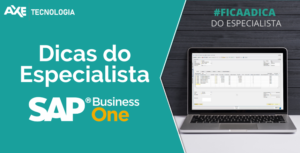 dicas do especialista sap business one axe tecnologia